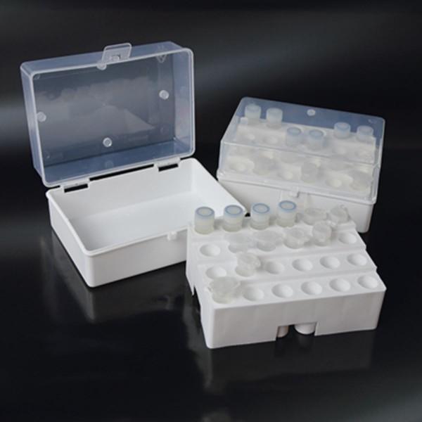 Tiefkühl-Aufbewahrungsbox für 24 Reaktionsgefäße