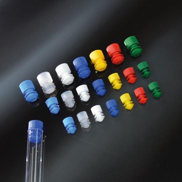 Lamellenstopfen, Ø 16mm, PE, hellblau