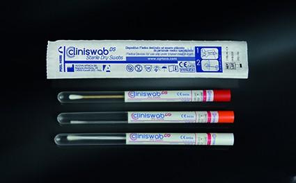 Viskose, Kunststoffstab, Ø12x150mm, steril, einzeln verpackt