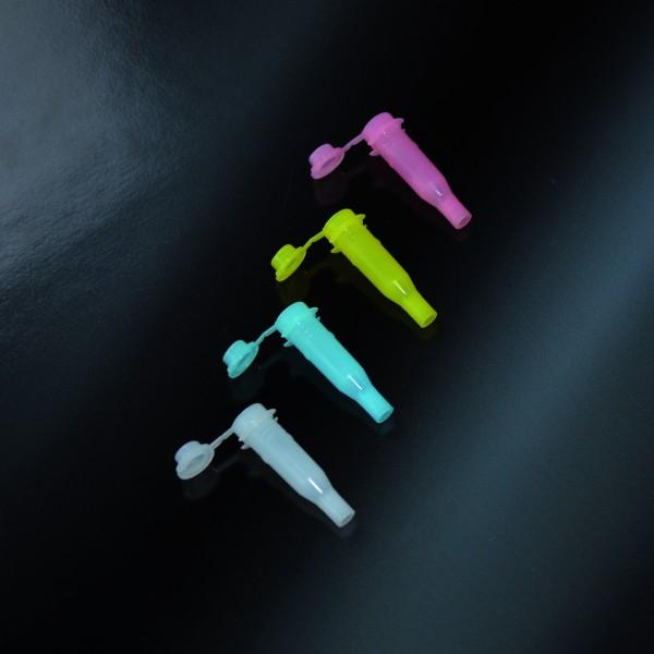 Reaktionsgefäß 0,75ml mit Deckel, pink, COBAS