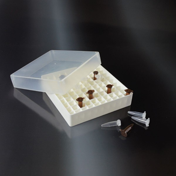 Aufbewahrungsbox für 100 Mikroröhrchen 0,5 ml
