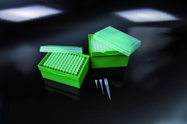 Pipettenspitzen 100-1000µl, neutral, Rack mit 96 Stk.